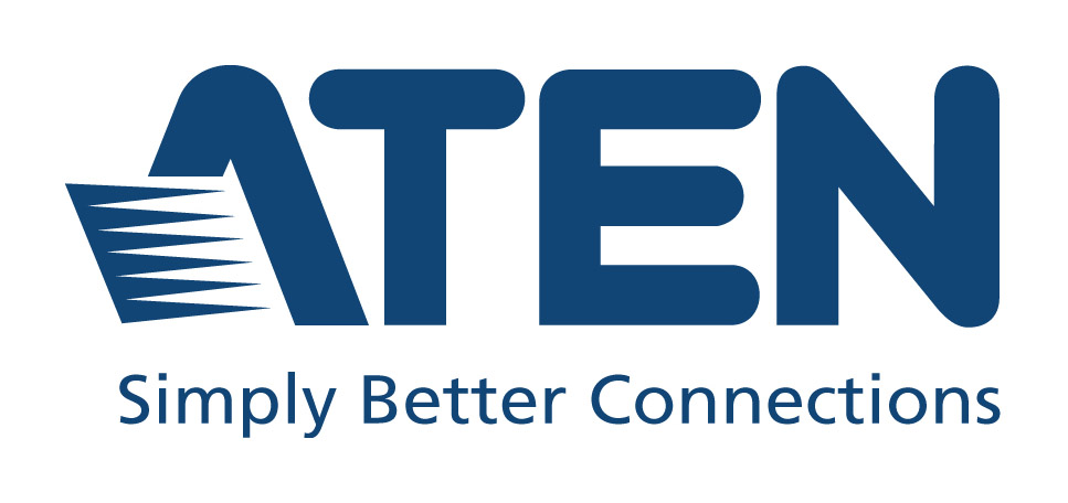 aten logo with tagline